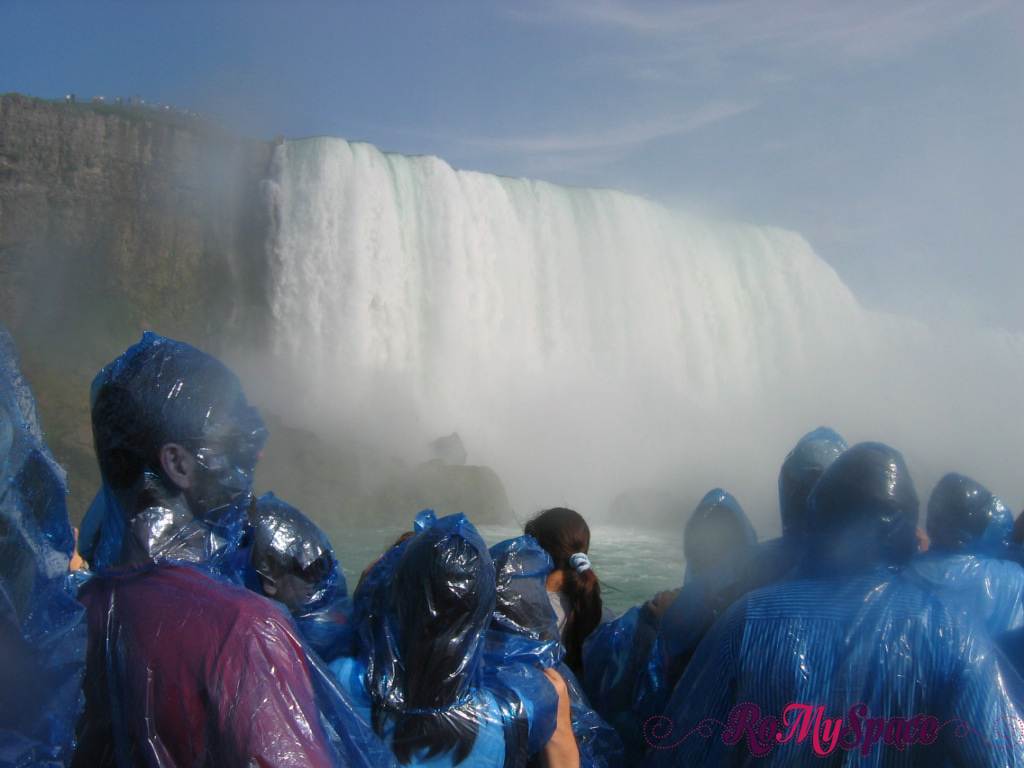 Niagara Falls dalla Maid of the Mist
