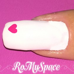 Nail Art Small Heart