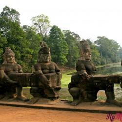 Angkor Thom, la meravigliosa città dell'impero Khmer
