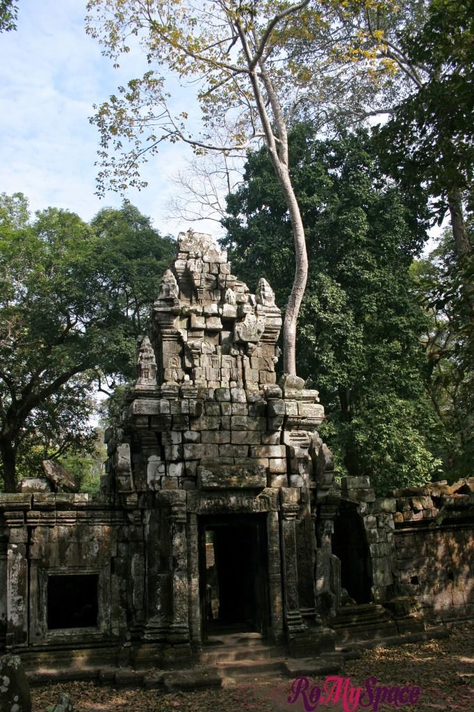 angkor thom - porta ovest