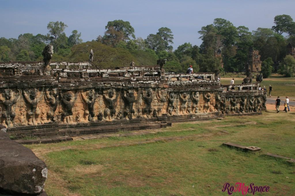 terrazza degli elefanti - angkor thom