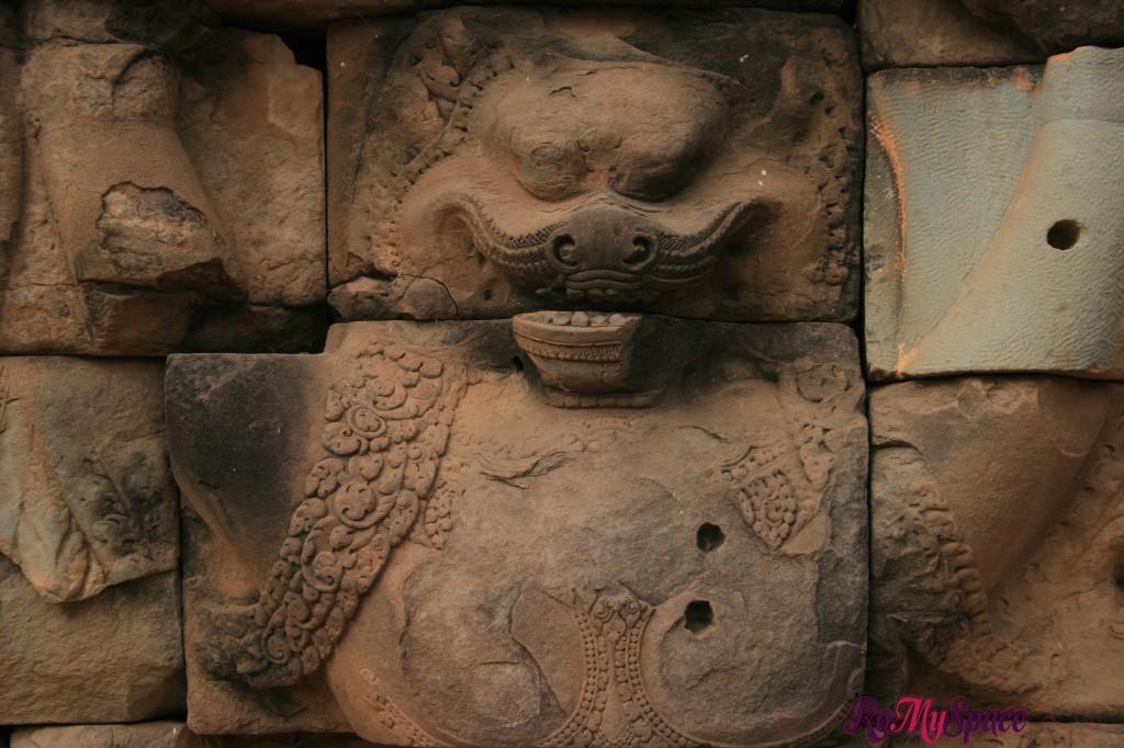 angkor thom - terrazza del re lebbroso