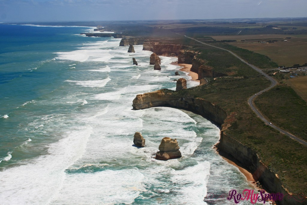 Great Ocean Road dall'elicottero