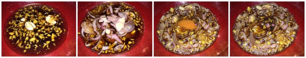salsa coreana romyspace pollo tacchino carni bianche fotoricetta ricetta tutorial corea coreana zenzero zucchero aceto di riso salsa di soia peperoncino scalogno aglio olio di sesamo
