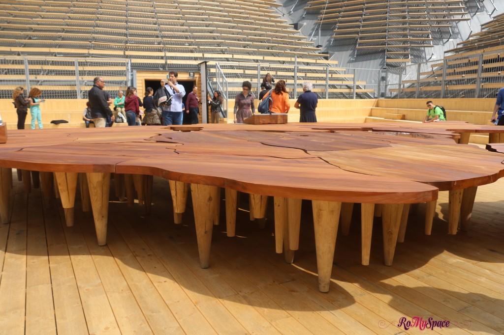 Padiglione Zero - La tavola, teatro del mondo