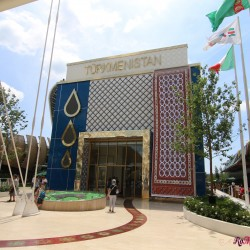 EXPO 2015 Padiglione Turkmenistan