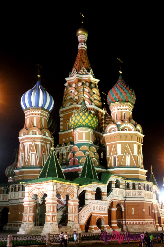 san basilio mosca russia moscow cattedrale romyspace