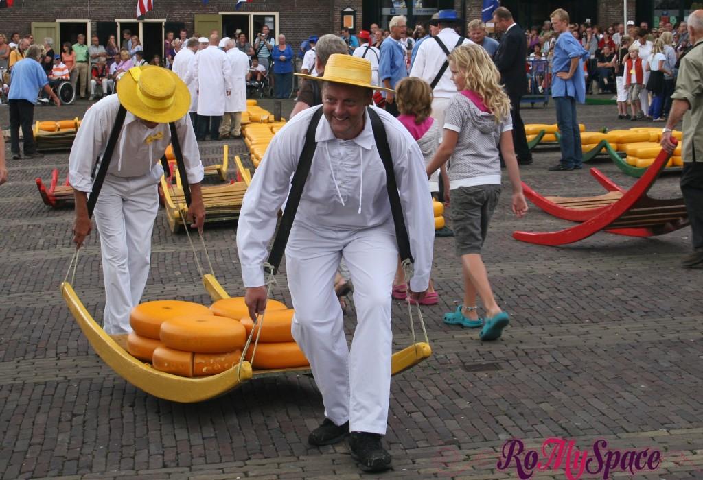 Alkmaar, mercato del formaggio