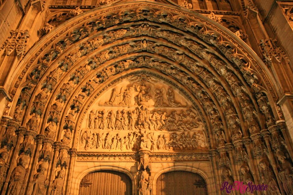 Anversa - Portale di Notre Dame