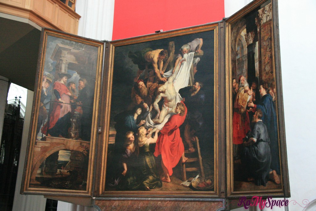 Rubens nella cattedrale di Anversa