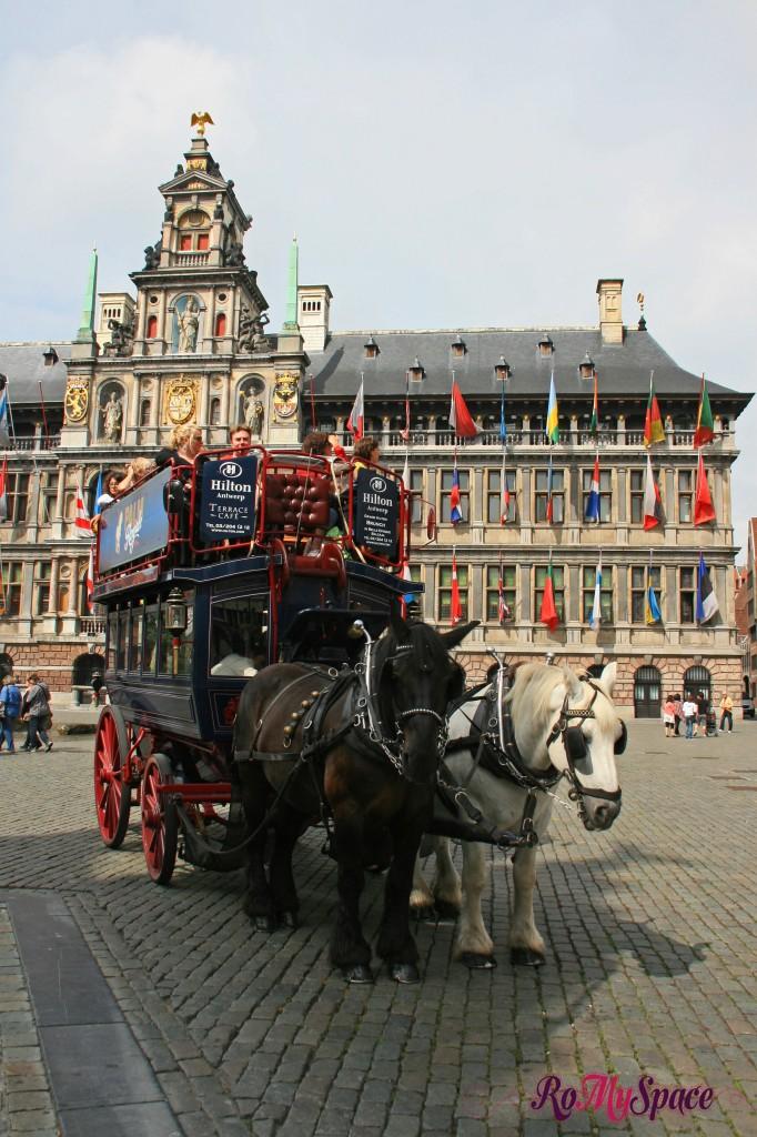 Anversa - giro in carrozza