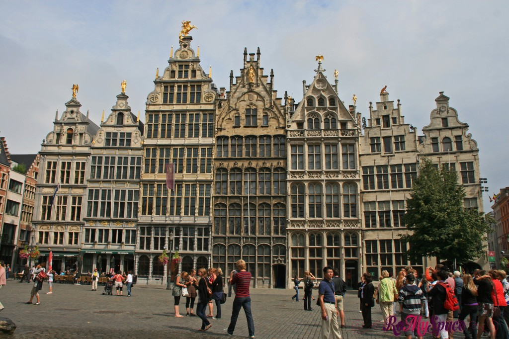 Anversa - case delle corporazioni