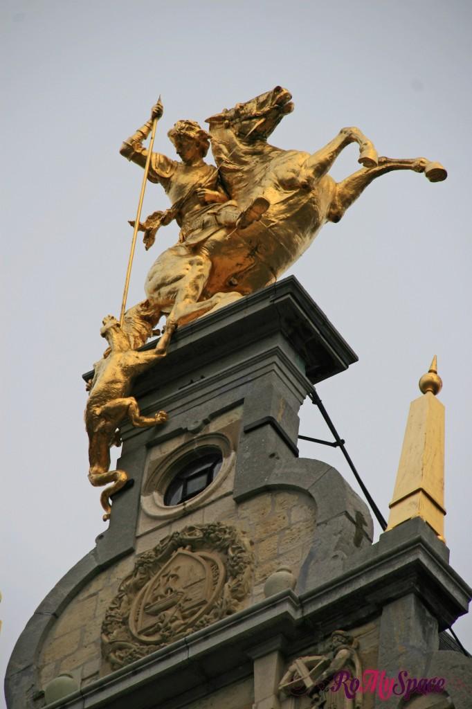 Anversa - San Giorgio e il drago