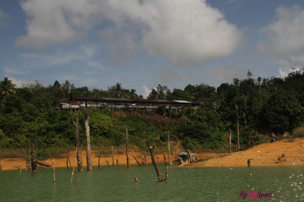 longhouse, la tipica abitazione degli iban