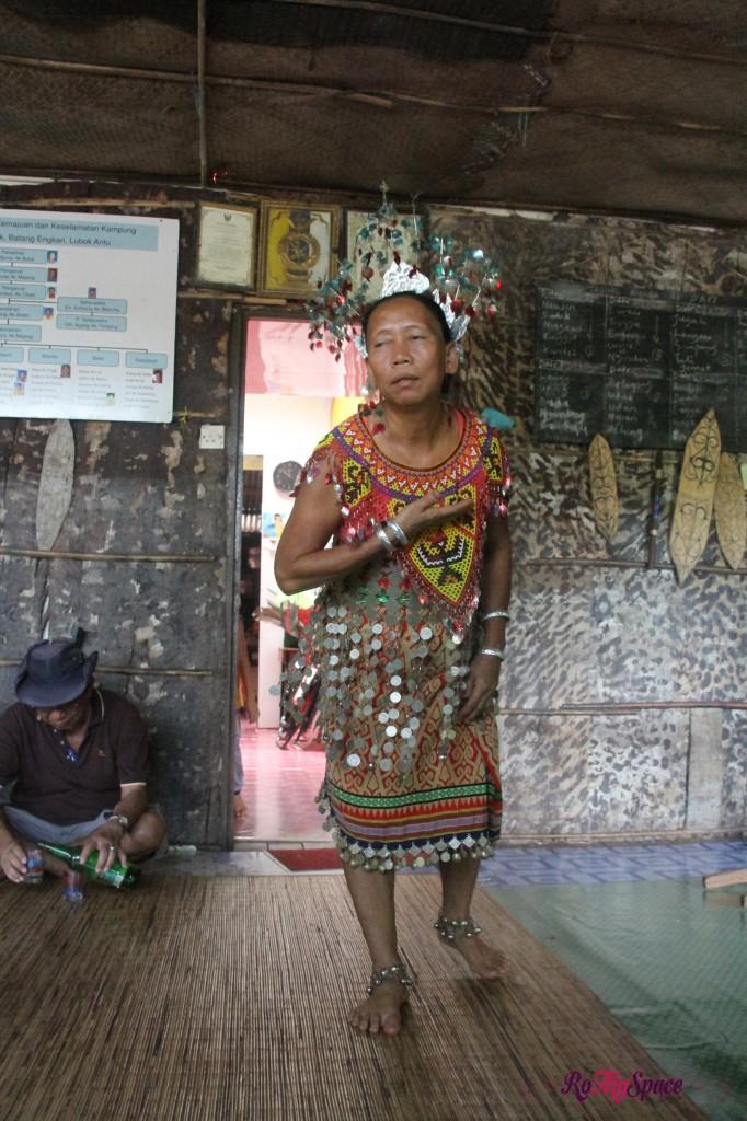 danze tradizionali degli iban