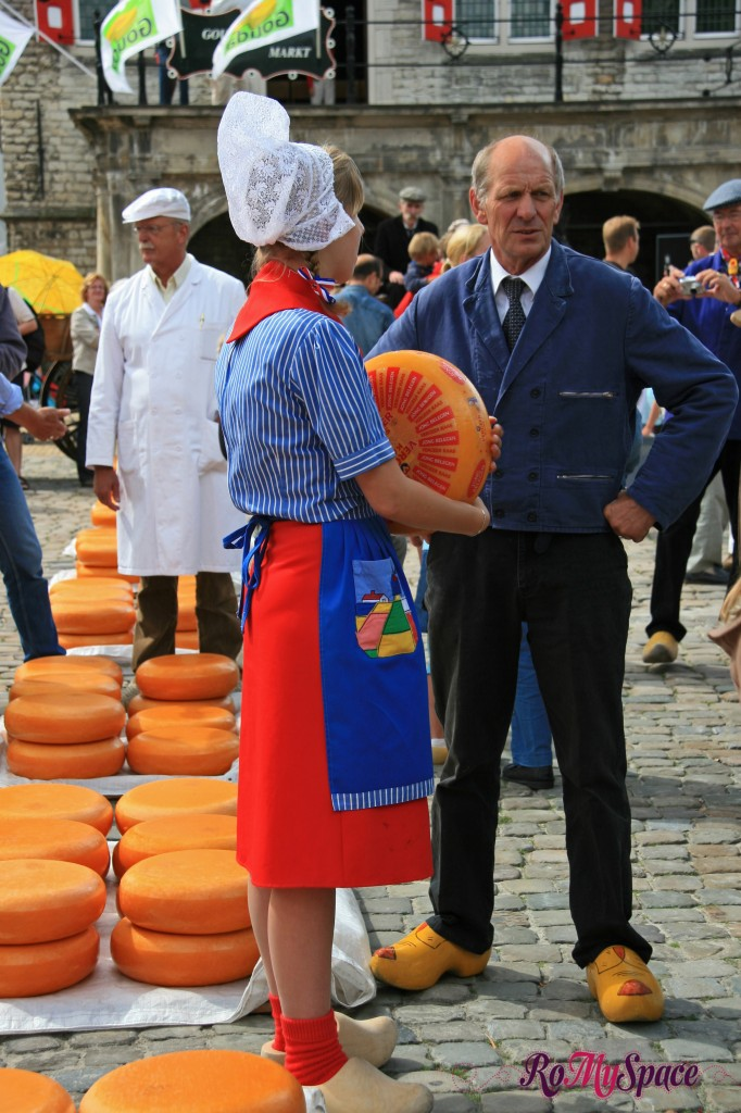 Gouda, mercato del formaggio