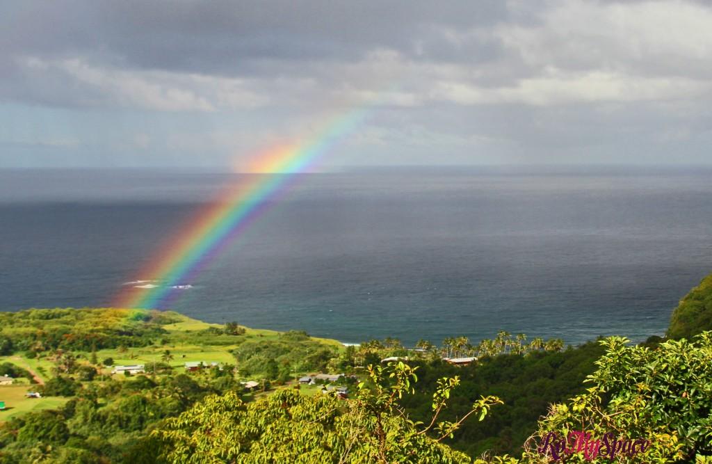 Hana Highway - arcobaleno