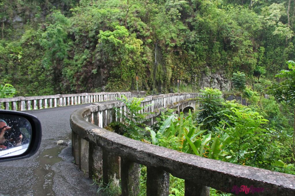 Hana Highway - uno dei ponti