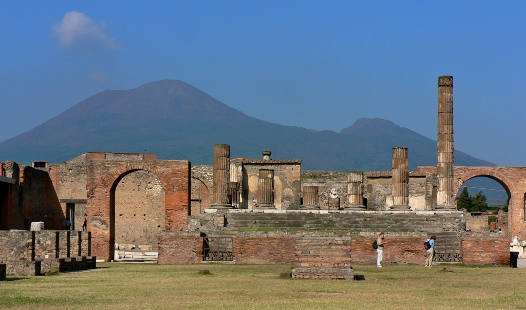 Vesuvio visto da pompei