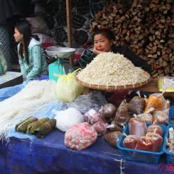 Street food e Mercato a Luang Prabang