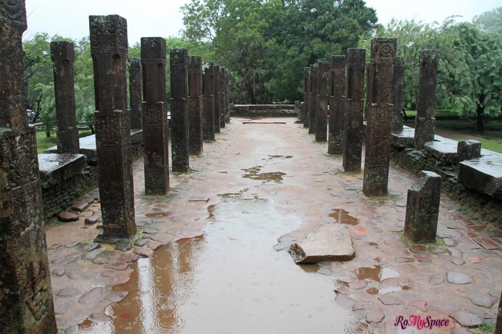 polonnaruwa - palazzo reale - sala delle udienze