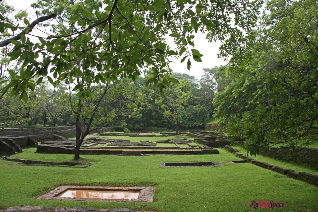 sigiriya - i giardini