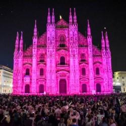 Monumenti in rosa per una buona causa