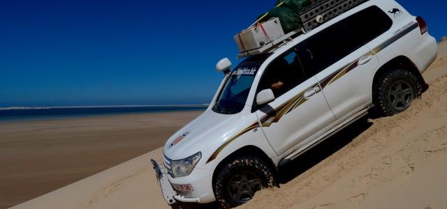 Transafricana: fra sabbia e acqua