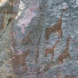Tra le colline sacre di Tsodilo in Botswana