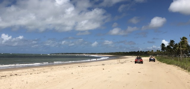 Le spiagge di Porto de Galinhas in dune buggy