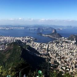 Il Cristo Redentor, il simbolo della città di Rio de Janeiro