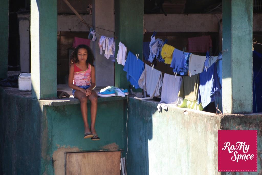 Bambina favela