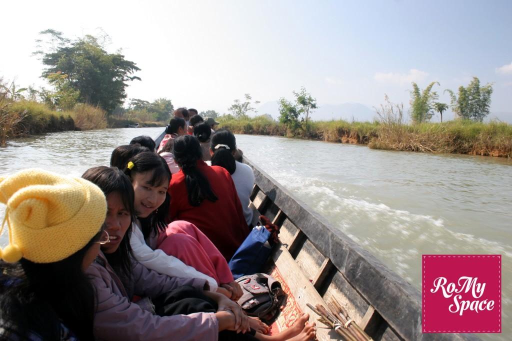 birmania lago inle barca