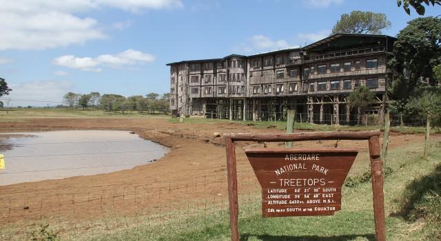 "Treetops Lodge, una residenza ""regale"""