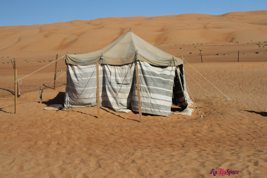 oman sharqiya deserto tenda beduina