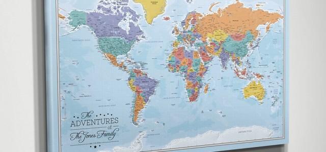 La mappa dei vostri viaggi