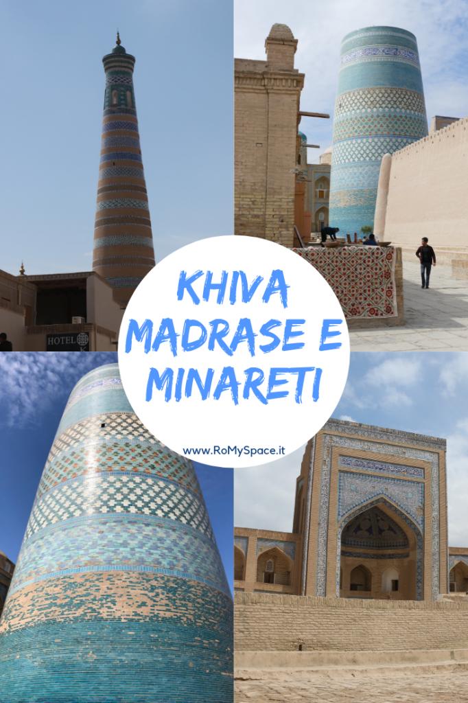 KHIVA - MADRASE E MINARETI