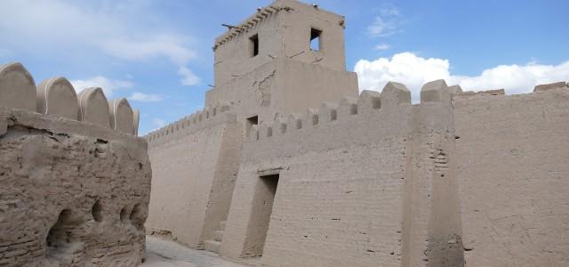 Le Mura della città di Khiva in Uzbekistan
