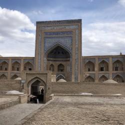 Le Madrase e i minareti di Khiva in Uzbekistan