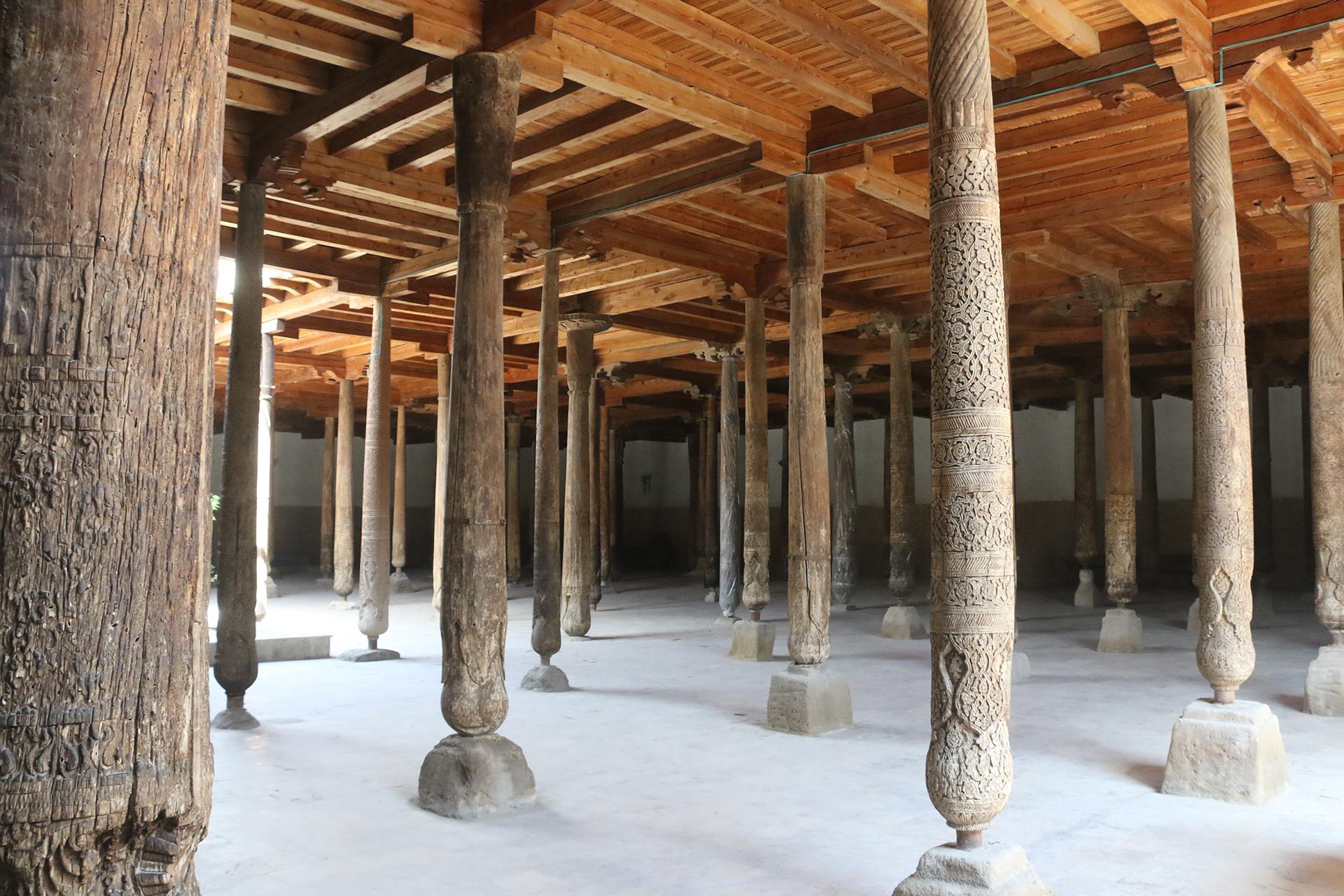 Le moschee di Khiva in Uzbekinstan
