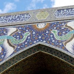 Il Complesso di Lyabi Hauz a Bukhara in Uzbekistan