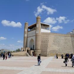 Ark, la fortezza di Bukhara, in Uzbekistan