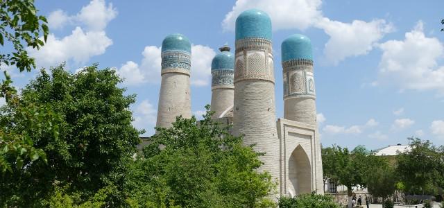 La città di Bukhara in Uzbekistan