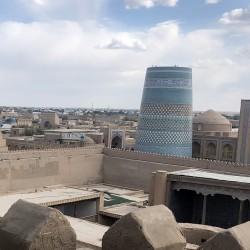 La città di Khiva in Uzbekistan