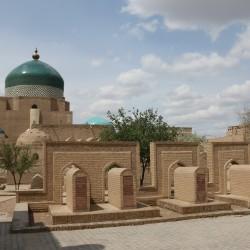I mausolei di Khiva in Uzbekistan