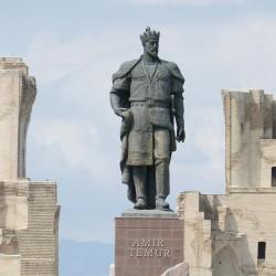 Il palazzo di Tamerlano a Shakhrisabz